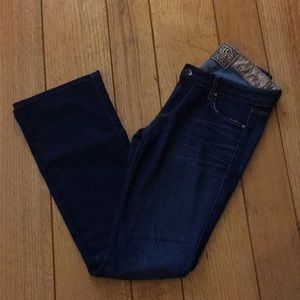 Rich and Skinny • the wedge bootcut jeans